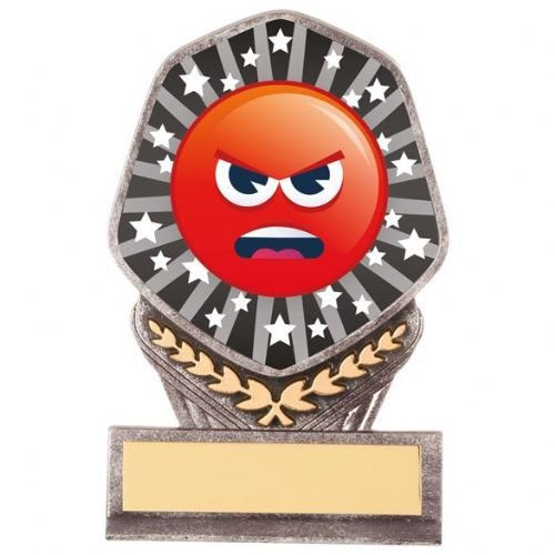 Falcon Emoji Angry Award 105mm
